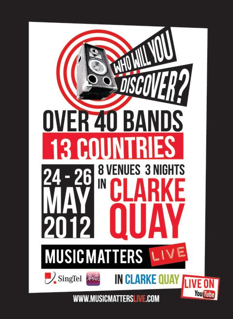 MUSIC MATTERS LIVE AT CLARKE QUAY