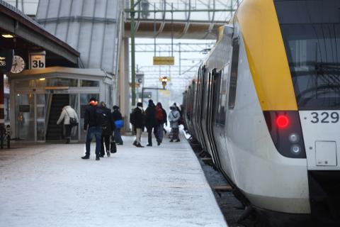 Nyheter i tågtrafiken 15 december