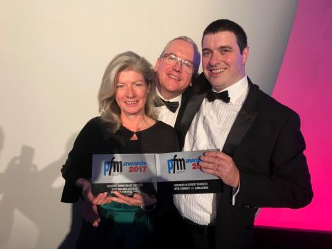 Double win for Mitie at the PFM awards 2017