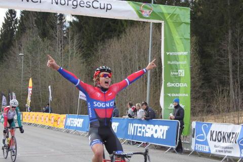 Sedrik Engebø Ullebø inn til seier NC 1 Grenland 2016