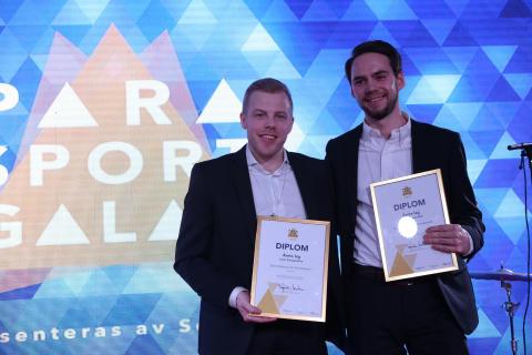Samtliga vinnare vid 2018 års Parasportgala