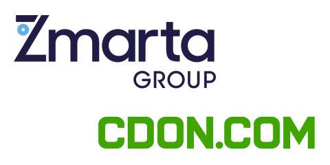 Zmarta i skandinaviskt samarbete med CDON.COM