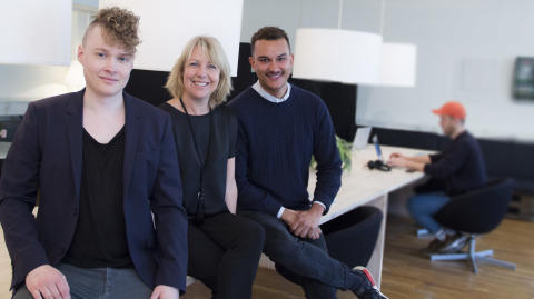 Kommunikationsskolan Berghs startar studio