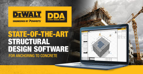 DEWALT® Announces New Structural Design Software: DEWALT Design Assist