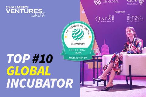 Chalmers Ventures en av världens tio bästa universitetsinkubatorer