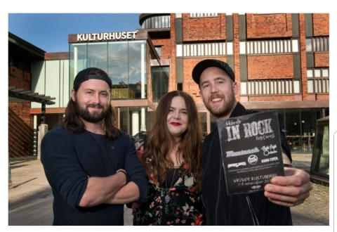 Beardmen Agency Group presenterar egen scen på Live at Heart
