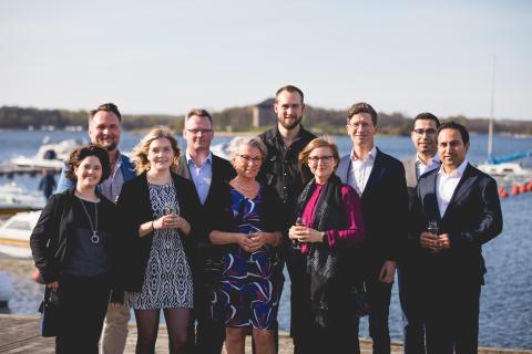 10 Nytänkande entreprenörer tilldelas ÅForsk Entreprenörsstipendie på Sveriges Innovationsriksdag 2019