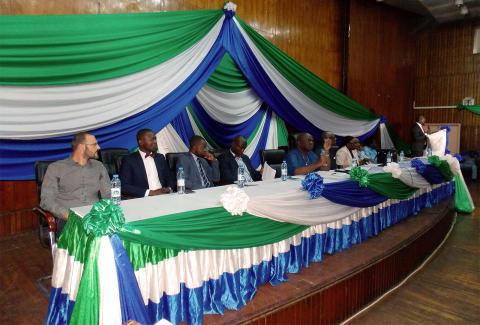 GAF establishes Geo-Data Information Management System for Sierra Leone