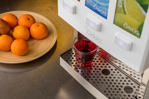 Miljön i fokus när Orkla Foods Sverige lanserar nytt koncept för drycker till restaurangmarknaden