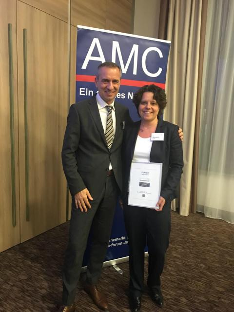 Zwei AMC-Preise für Zurich: Gelungene Website und nachhaltige Kundenorientierung