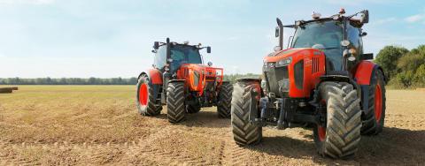 Kubota tar steget upp med traktorn som lantbruket vill ha