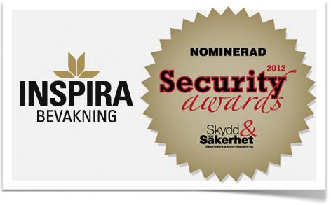 Inspira nominerade i Security Awards!