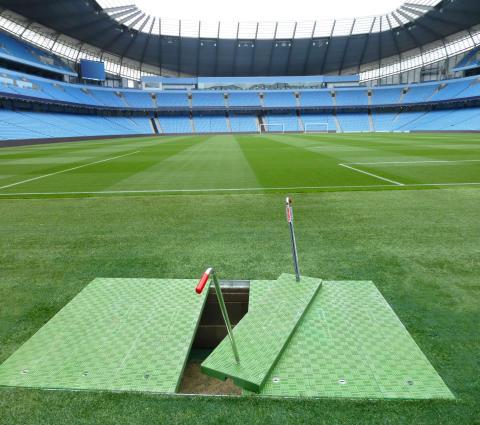 Fibrelite covers installed in Premier League stadium