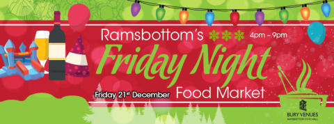 New Friday food markets to start in Ramsbottom