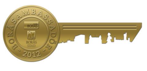 Årets Boråsambassadörer 2012 är Gunnar Jägsell och Henry Augustsson