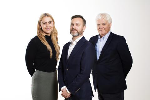 TV3s EM-lag studioeksperter: Isabel Blanco, Christian Ramberg, Frode Kyvåg