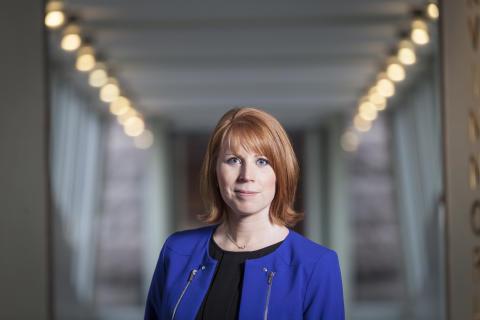 """Annie Lööf: """"Ge områdespoliser 5000 kronor i lönelyft"""""""