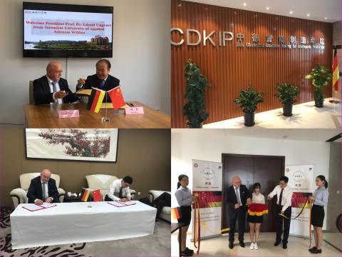 Technische Hochschule Wildau baut akademische Kooperation mit der Region Shanghai/China weiter aus