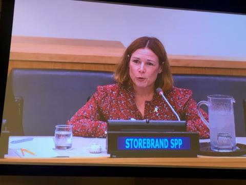 Storebrand a Founding Signatorie of the Tobacco Free Finance Pledge