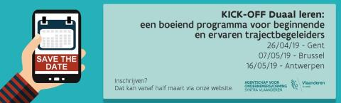 Kick-off Duaal Leren 2019 - Antwerpen