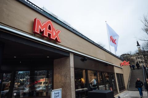 MAX medis - uppgång Björns Trädgård Medborgarplatsen
