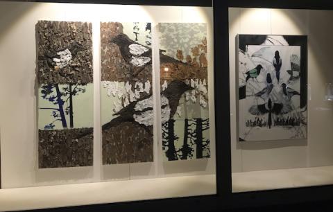 Klart för andra omgången konst i Lindesbergs skyltfönster