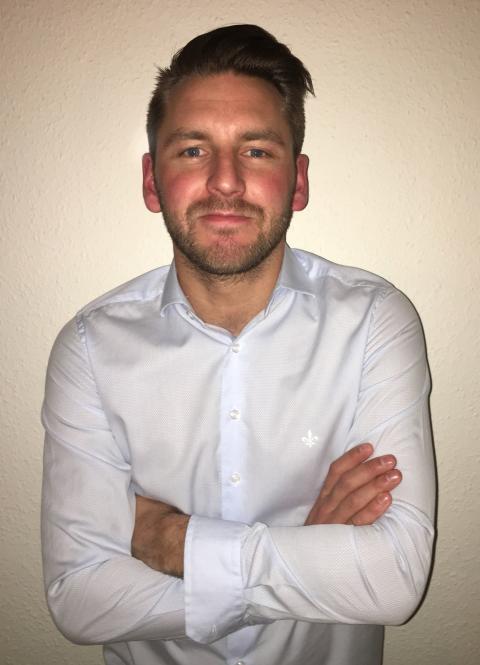 Tim Toth ny säljare på SMC Pneumatics i Lund