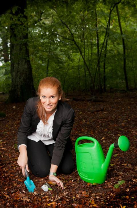 Träd ska vinna företagskunder  – Resurs Bank lanserar Sveriges första gröna företagskort