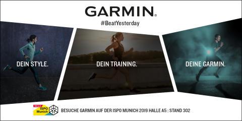 ISPO 2019: Garmin präsentiert Produkthighlights
