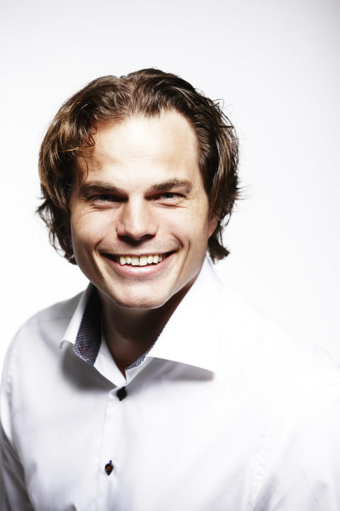 Erik Fossum Færevaag, CEO i Disruptive Technologies