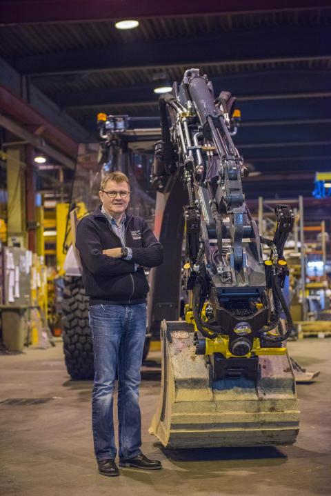 Lännen Tractors väljer säkert redskapsfäste från Engcon som standard