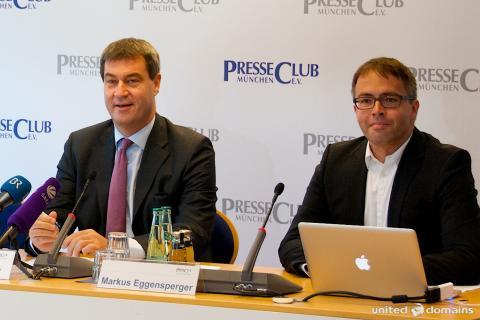 Pressekonferenz zum Start von .bayern