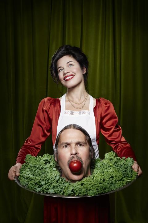 Alla kan äta julbord – en julbordsföreställning av och med Lotta Lundgren och Erik Haag