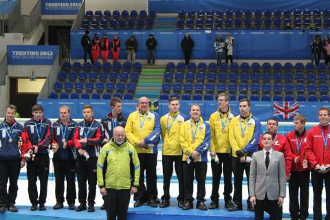 Svenskt Universiadguld i curling