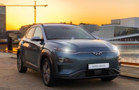 Rekordsalg av Hyundai KONA electric: 6 969 ordre på to uker