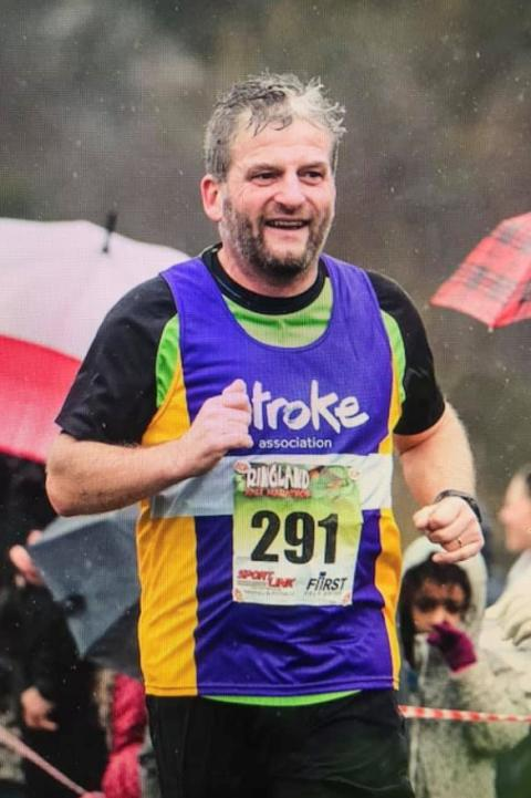 Norfolk stroke survivor to go the extra mile for the Stroke Association