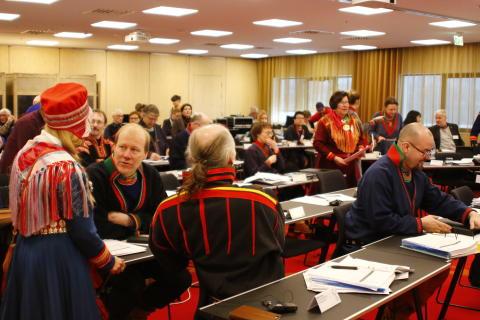Sametingets ledamöter samlade i Staare/Östersund v. 22
