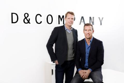 Peder Gyllenberg VVD och Ralph Dahlin VD D&Company