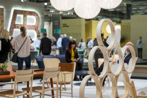 Ny skandinavisk design på Stockholm Furniture & Light Fair
