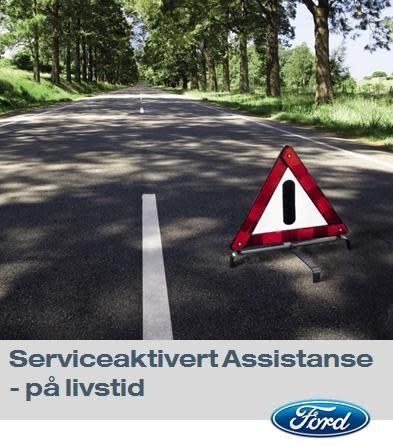 Ford tilbyr Ford Assistanse på livstid