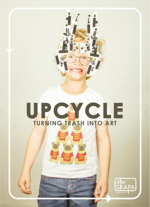 UPCYCLE -Turning trash into art