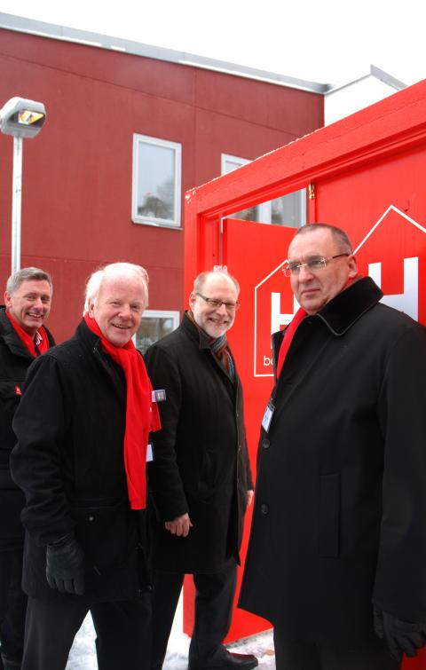 Invigning SABOs Kombohus i Iggesund