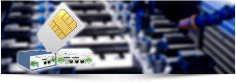 Routers konverterar MODBUS