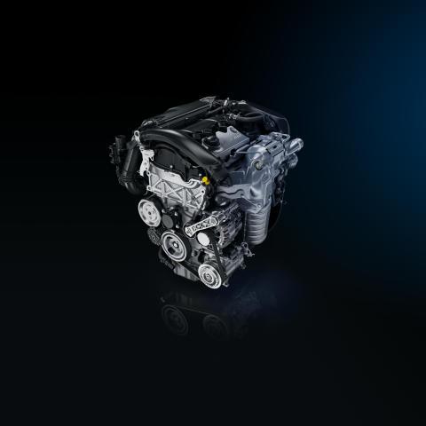Peugeots nya bensinturbomotor med 205 hk.