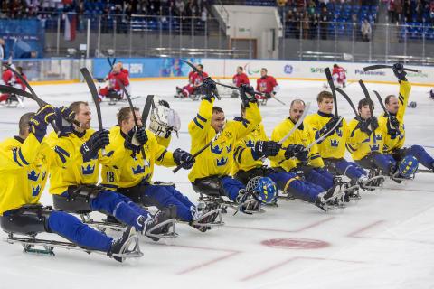 Östersund arrangerar kälkhockey–EM