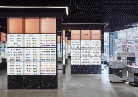 Studio Stockholm har utvecklat ett nytt koncept för Synsams flag ship store