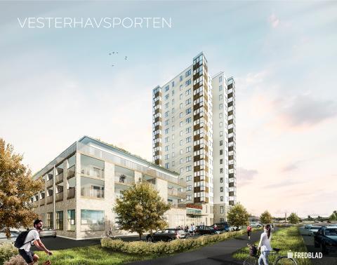 Gekås Ullared bakom Vesterhavsporten -nytt landmärke i Falkenberg