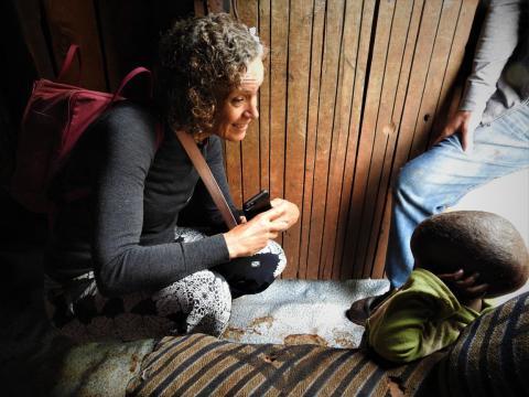 Omvälvande upplevelser som svensk läkare för Rotary Doctors i nordvästra Kenya