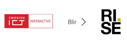 ​Interactive Institute blir RISE Interactive