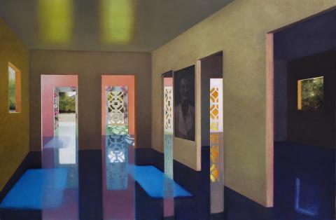 "Anette Harboe Flensburg: ""House of Night and Day"", 2006. Hammerslag: 205.000 kr."